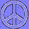 Peace big blue