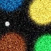 цветные пятна