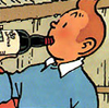 Diary of an Ass Monkey: silly: tin tin drinking