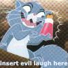 not your little girl: evil laugh