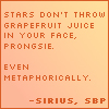 SBP grapefruit juice