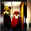 животные в лифте