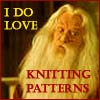 dumbledore knitting patterns - by Cyd
