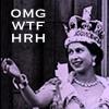 The Queen is a NERD