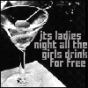 drink for free