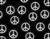 Peace b&w