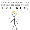 draco is an emo kid