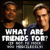 Daniel/Teal'c - Friends