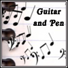 Guitar and Pen