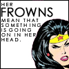 WHAT: comics - frown