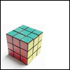 contents under pressure / handle with care: geek - rubiks cube