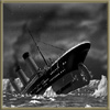 Maybe I'm the plucky comic relief...?: Titanic going down