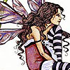 striped tights faerie