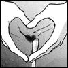crotch heart