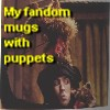 Richard Hunt: My fandom mugs with puppet