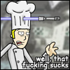ctrl+alt+del ][ chef + lightsaber = otp