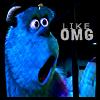like omg - monsters inc