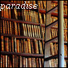 Klara: Library - paradise (Books)