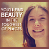 Kaylee - Find beauty in the toughest pla