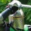 shiny helm