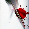 Writing (Bloody Quill)