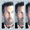 House's funny face
