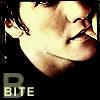 b for bite.