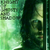 A work in progress: LotR Aragorn Knight of Ghosts