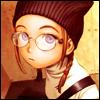 girl w/ glasses