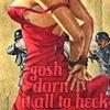 Verylisa - gosh darn red dress