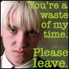 HP - Draco Malfoy - Please Leave