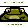 Norwegian Blue: Trevor for President
