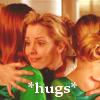 anya hugs