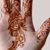 Henna-hand art