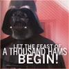 Darth Vader likes ham