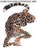 king cheetah, Weird