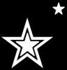 stars on black