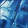 blue cello