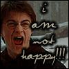 HP- Harry's not happy