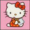 Writing Hello Kitty