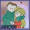 MH - anime!Snuggle - Y/K