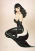 schadenfreude #242: bettie mermaid