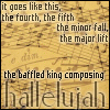 Hallelujah 2 (baffled king) L Cohen