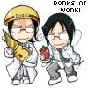 現実逃避: dork work