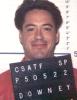 Downey small-head mugshot
