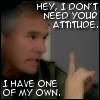Jack: attitude