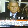 Random - Bush = Worst