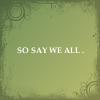 BSG - So say we all
