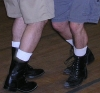 bearfuz: contradancing feet