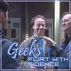 ScribeWraith: SGA Geeks Flirt